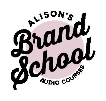 alison brand school audio course logo